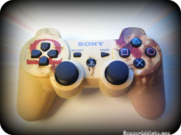 manette ps3 gow intro
