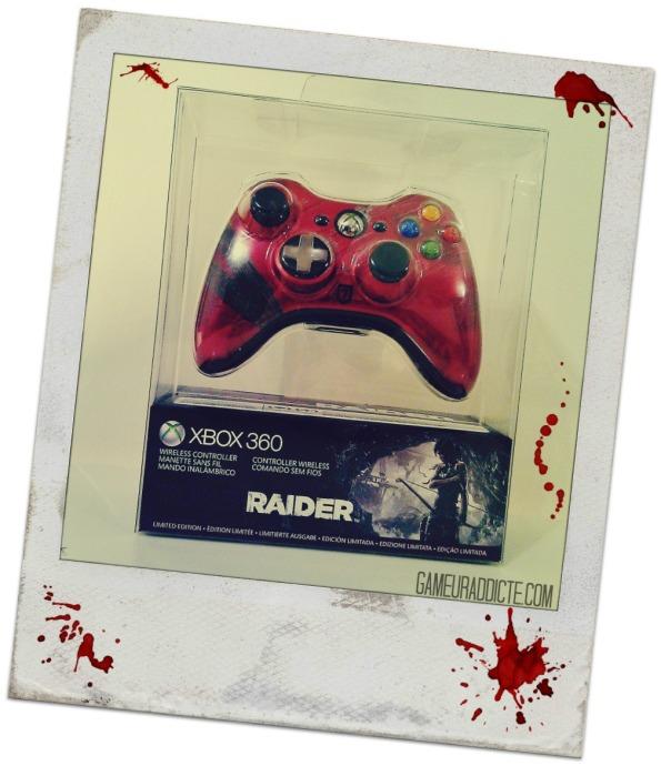 Manette xbox360 tomb raider (5)