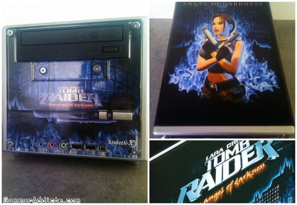 xpc shuttle tomb raider special edition