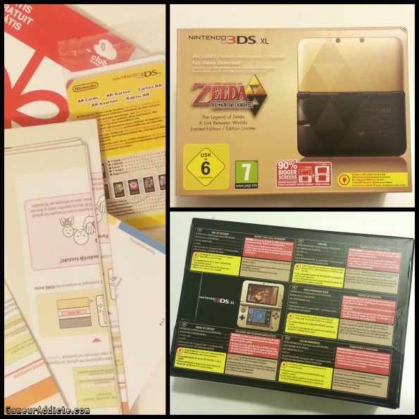 Nintendo 3DS XL The Legend of Zelda  A Link Between Worlds – édition limitée (1)